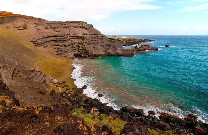 6. Papakolea Green Sand Beach