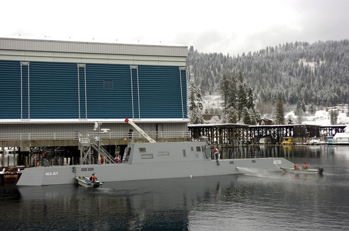 Although over 375 miles from the ocean, it's often called the U.S. submarine force's most important body of water... which is rather impressive.