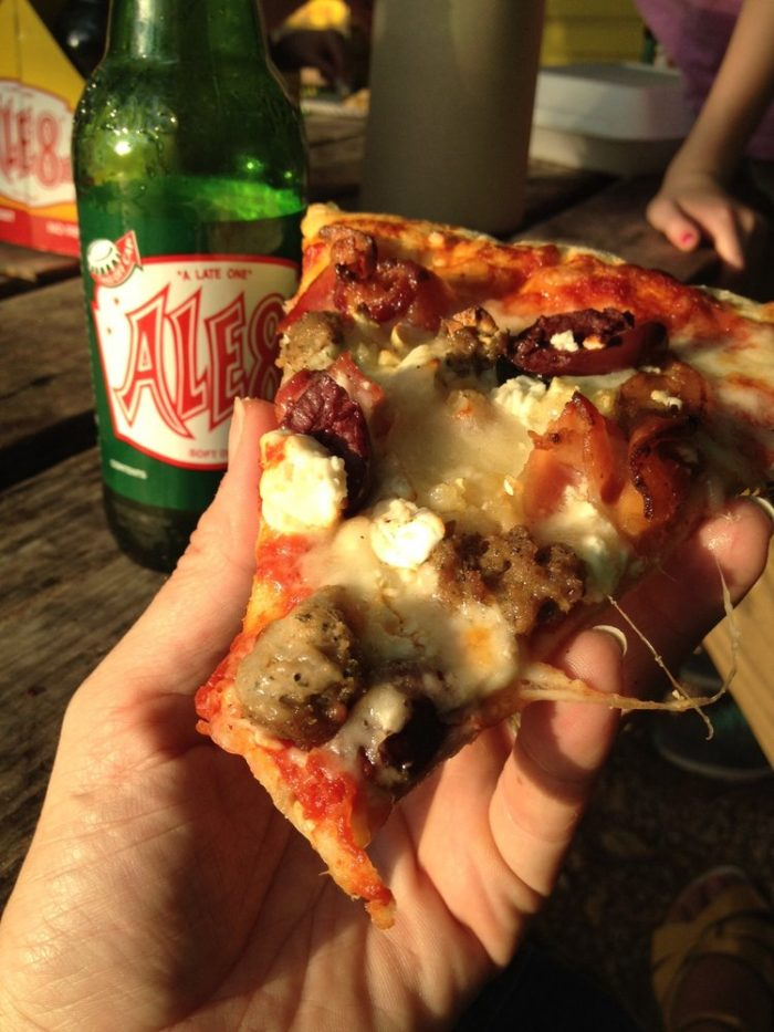 Pizza and ale 8