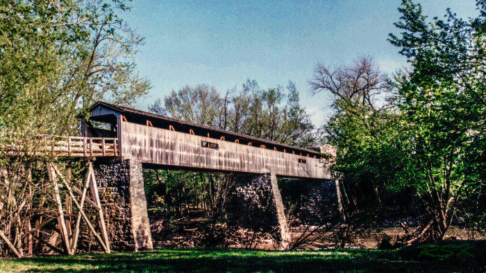 5. Port Royal State Park Covered Bridge