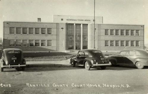 12. Renville County Courthouse, Mohall, North Dakota, 1940