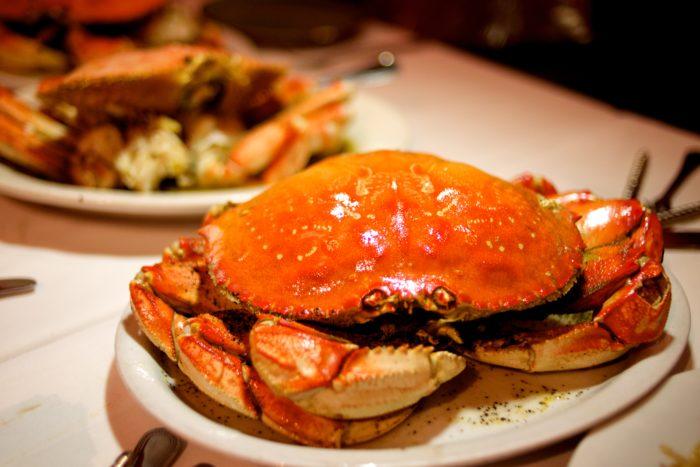 Roasted garlic pepper crab at Thanh Long, San Francisco-12247445146