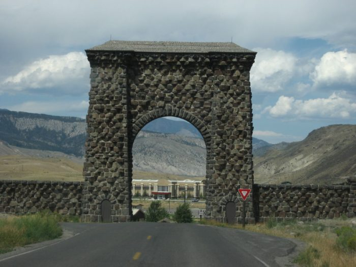 3. Visit The Roosevelt Arch.