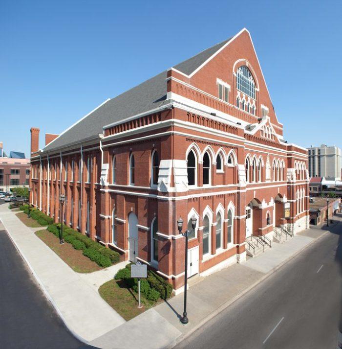 7. Ryman Auditorium