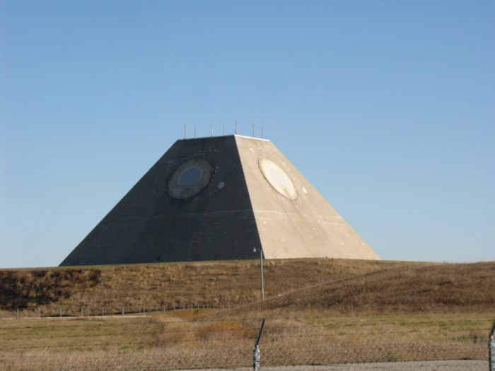 3. The pyramid on the prairie near Nekoma. It's bizarre and not at all what you'd expect out here.