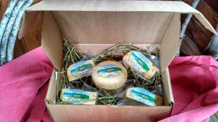 Next, head to Samish Bay Cheese and fill your cooler with delicious dairy and meat.