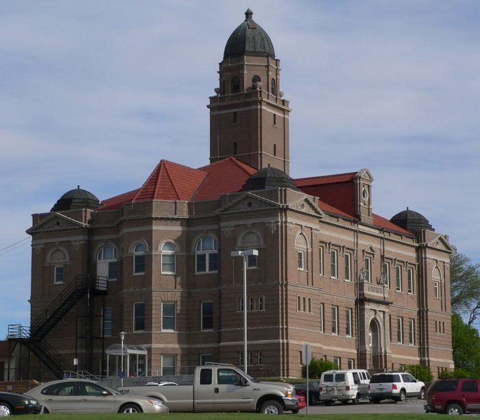 That courthouse is one of the many examples of fine architecture in Wahoo. The Renaissance Revival-style building has been standing tall since 1904.