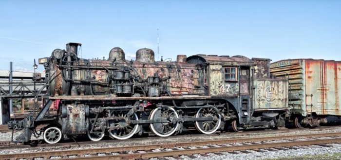 Tucked away in Scranton, a hauntingly beautiful graveyard of vintage steam locomotives is an irresistible lure to urban explorers.