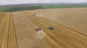 A Drone Flew Over A Field In North Dakota And Captured Mesmerizing Footage
