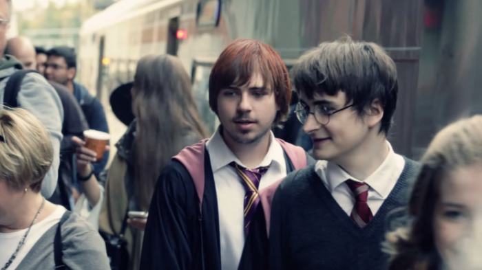 Depending on which train you take, you'll be able to step onto your very own Hogwarts Express with Harry Potter himself.