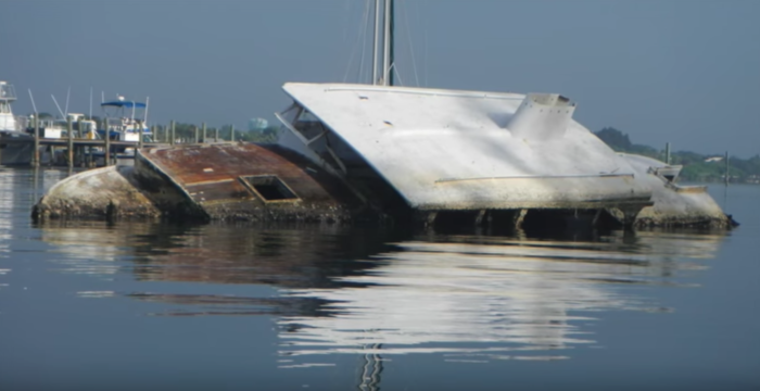 The island is managed by Florida's fish and wildlife agency, which has removed many of the abandoned boats. However, at least three more have recently appeared in the island's lagoon.