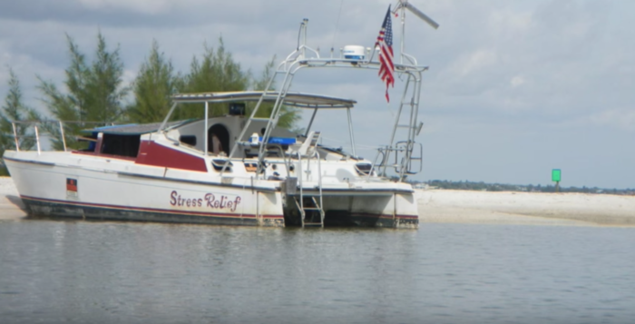 """Some of the boats are sporting """"no trespassing"""" signs, leading one to believe that the owners intend to come back for them, but the vessels are clearly deteriorating. What's going on here?"""
