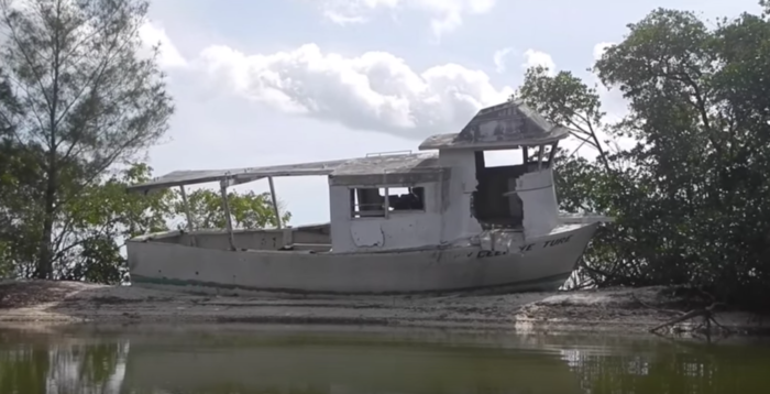 """Nicknamed the """"Island of Misfit Boats,"""" the shores of this isle have been accumulating abandoned vessels for quite some time."""