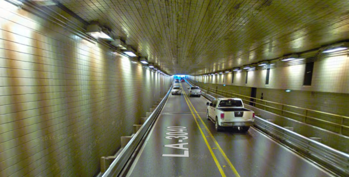Some drivers have reported seeing ghosts late at night in the tunnel, including the spirit of a woman who died in a tunnel crash many years ago.