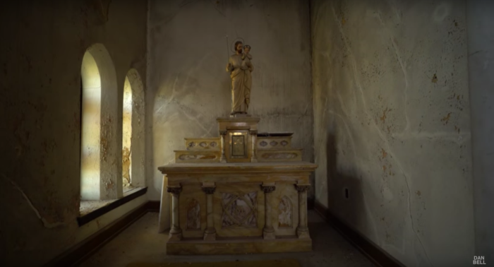 So many of the original religious icons and sculptures are still tucked away in the church.