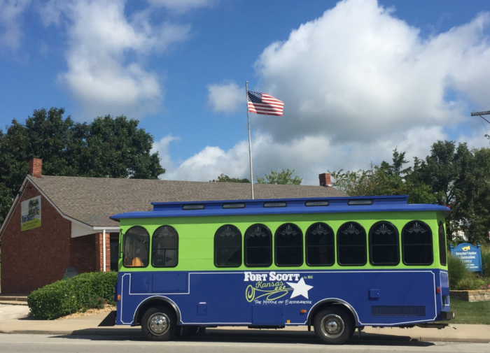 There is no better way to tour historic Fort Scott than by taking a 50-minute narrated tour on the beloved Dolly.