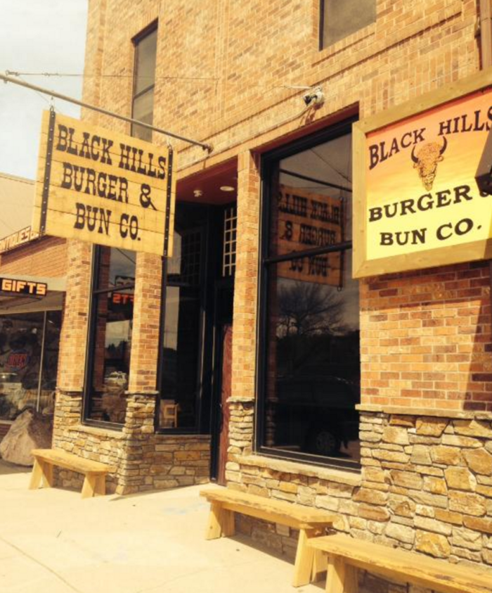 The restaurant is known as Black Hills Burger & Bun Co.