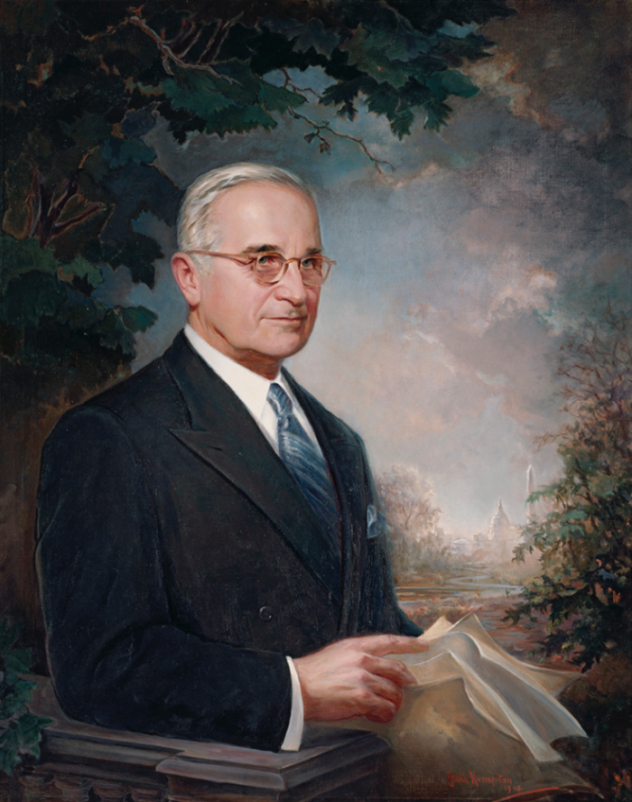 3. President Harry S. Truman lived with his mother-in-law in Independence following his presidency.