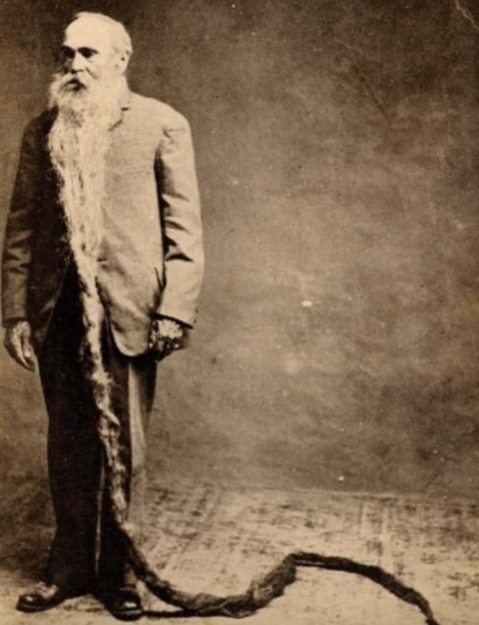 8. The longest Democratic beard.