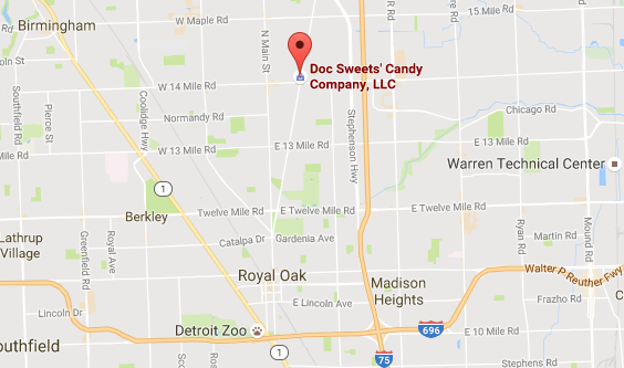 Since 2008, Doc Sweets' Candy Company has been selling sweets from its original location in Clawson, Michigan.