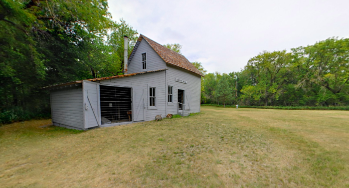 With about a mile of walking you can see the most interesting historical sites including the Old Mill, which dates back to the late 1800s, and was rebuilt for the last time in 1958. It is still fired up once a year as part of the interpretive park programs.