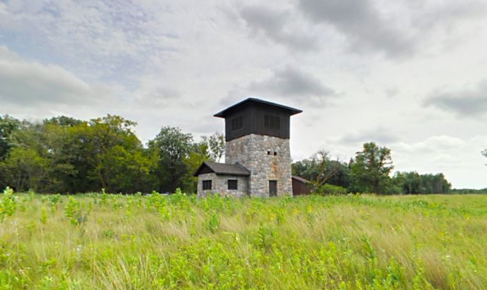 Another epic part of the park is the water tower, left from an old WPA project.