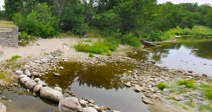 The trails will also take you by the beautiful Middle River, surrounded by pines planted with seeds carried over by settler Lars Larsen from Sweden.