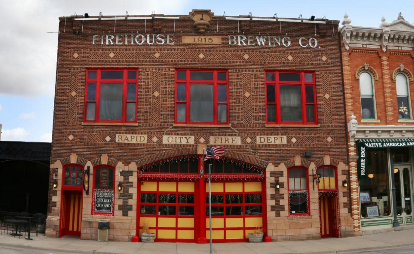 This Former Firehouse Is Now A Restaurant In South Dakota