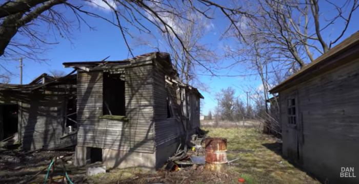 The exploration video shows the chilling remnants of life in Picher.