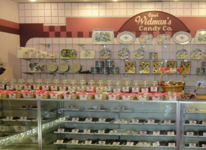 Though they are known for chocolate, they have a wide selection of just about everything that's sweet