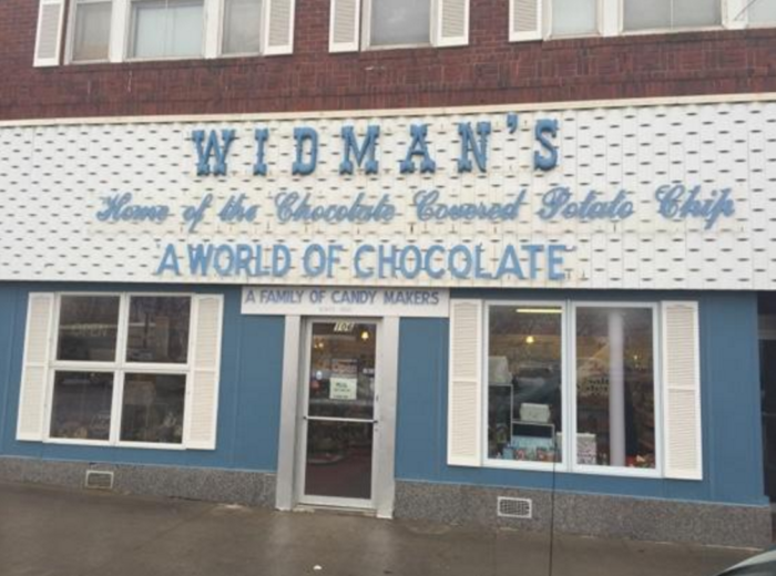 The Widman's Store is exactly as it says - a whole world of chocolate treats that will make your sweet tooth go crazy