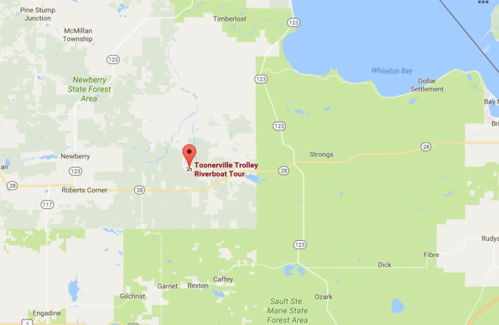 Located off of State Highway M-58, approximately 15 miles east of Newberry, sits the small town of Soo Junction.