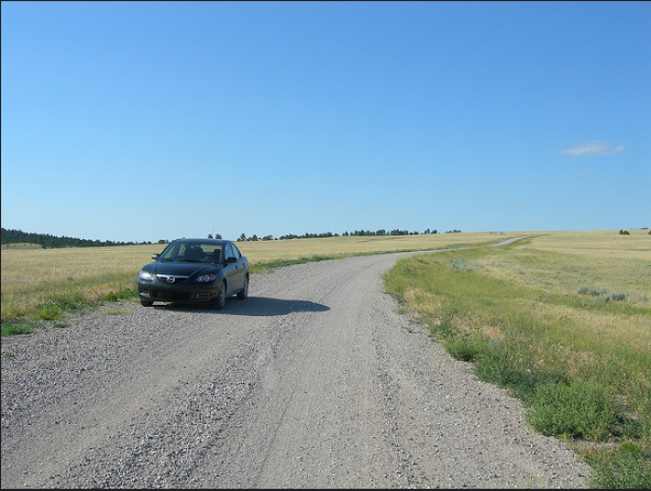 5. Wyomingites drive more on gravel roads than they do on paved ones.