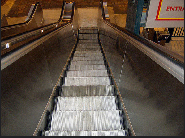 13. Forget the horse, Wyomingites get their kicks out of riding an escalator.