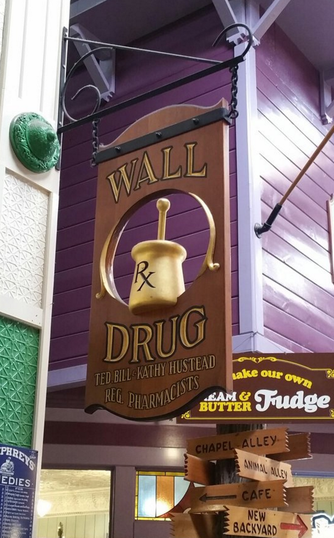 ...There IS a drug store included, so be sure to check that out, too.