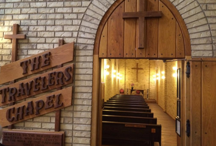Not only that, but just about every other thing you can think of is here, including a Traveler's Chapel.