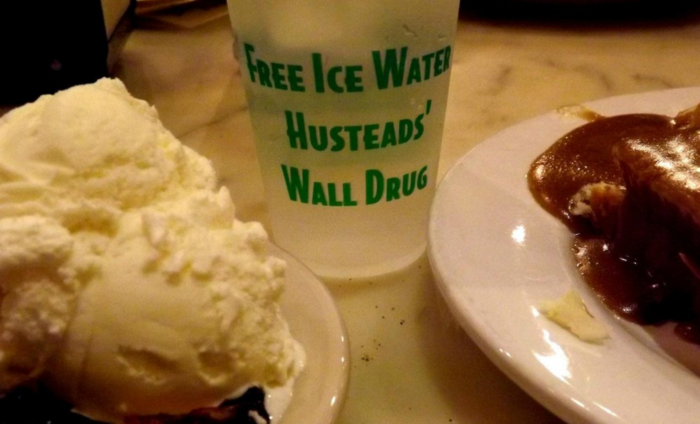 And, of course, be sure to take advantage of what made Wall Drug famous when travelers first came through all those years ago: free ice water!