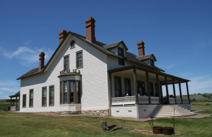 These include places like the On-A-Slant village and Custer's home, both of which you can enter and explore from the inside and out.