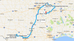 Take This Gorgeous Fall Foliage Road Trip To See Texas Like Never Before