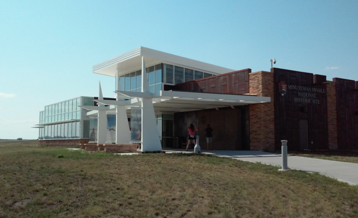 Your first stop should be the visitors center to the Minuteman Missile Historical Site.