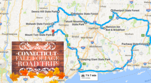 Take This Gorgeous Fall Foliage Road Trip To See Connecticut Like Never Before
