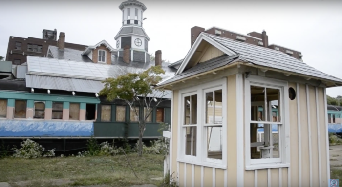 This train station was built in the 1860s and operated until the 1970s.