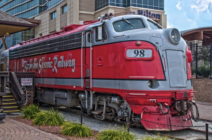 All aboard the Branson Scenic Railway!