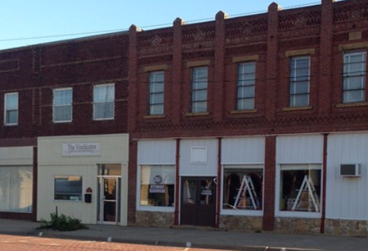 ...and lovely brick and mortar buildings that represent a simpler time in history.