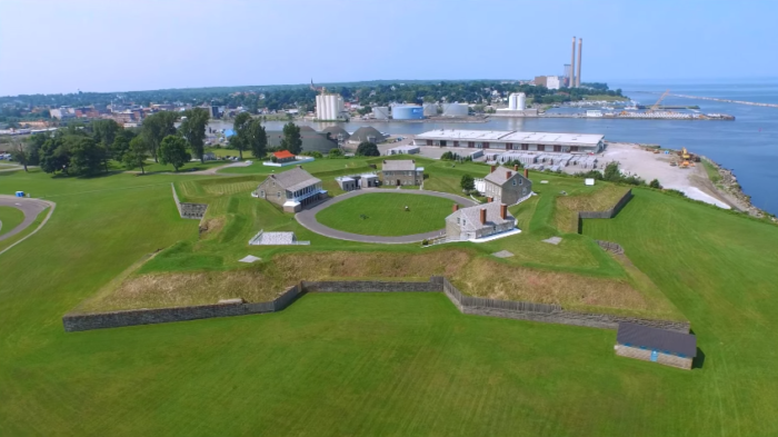 The star-shaped fort made it onto the list of National Register of Historic Places in 1970 and has remained a fascinating piece of New York's history.