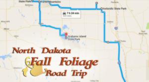 Take This Gorgeous Fall Foliage Road Trip To See North Dakota Like Never Before