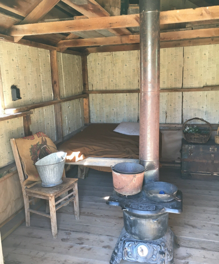 Explore the buildings inside and out, all accurately portraying the life on the homestead.