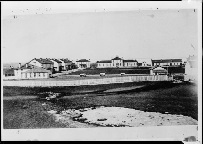 8. View of Fort Totten in the 1860s when it was still used as a fort.
