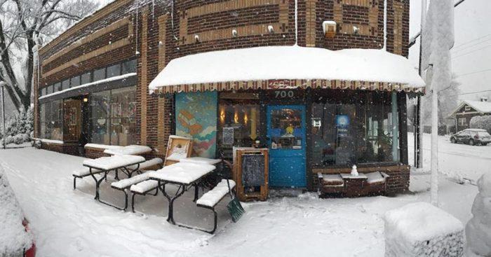 4. Sky Blue Café