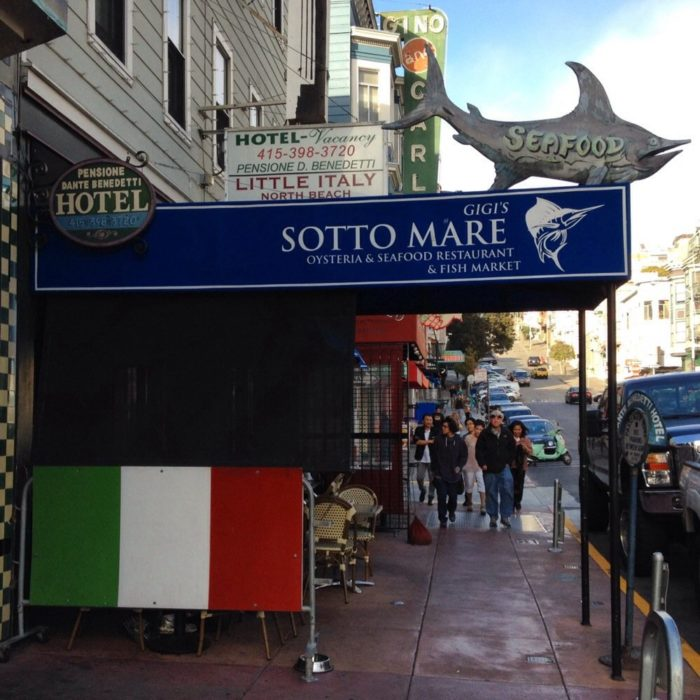2. Sotto Mare Oysteria & Seafood